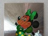 Уолт Дисней/Walt Disney Company. Минни Маус подружка Ми́кки Ма́уса.Необычная-фольга., фото №4