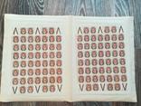 Сдвиг фона 1917 Царская Россия 1 руб лист на 100 марок MNH ** 152 Ти каталог 1500 долл $, фото №7