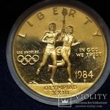 10 долларов США 1984г.Олимпиада., фото №5