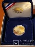 10 долларов США 1984г.Олимпиада., фото №9