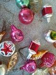 Мини ёлочные игрушки 39 шт, фото №4
