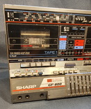 Магнитофон Sharp GF-800 Made in Japan, фото №3