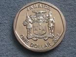Ямайка 1 доллар 2012 года, фото №3