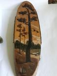 Сувениры кружка, рог и плакет на срезе березы, фото №7