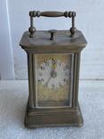Часы каретные старинные, фото №2