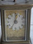 Часы каретные старинные, фото №3