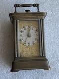 Часы каретные старинные, фото №5