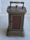 Часы каретные старинные, фото №11