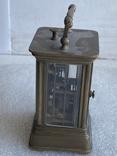 Часы каретные старинные, фото №12