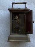Часы каретные старинные, фото №13
