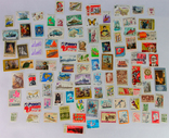 Почтовые марки одним лотом + спичечные этикетки СССР, фото №3
