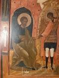 Икона Поклонение Архангелу Михаилу конец 17 начало 18 века, фото №7