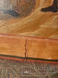 Икона Поклонение Архангелу Михаилу конец 17 начало 18 века, фото №13