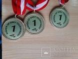 Спортивные медали, кол. 3 шт., фото №3