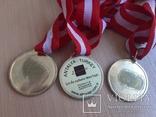 Спортивные медали, кол. 3 шт., фото №13
