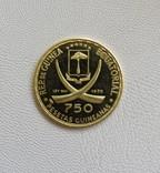 Экваториальная Гвинея 1970 год 750 песет 10,48 грамм 900`, фото №4