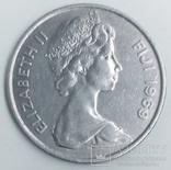 10 центов 1969 г. Фиджи, фото №3