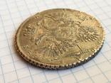 1 рубль 1731 года см. видеообзор, фото №11