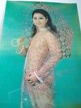 Стерео открытка эротика , девушка с зонтом, фото №4