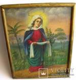 Икона на холсте Покров Пресвятой Богородицы, фото №5
