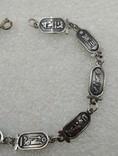 Браслет серебро Египет Арабские клейма 800, фото №4