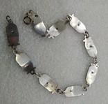 Браслет серебро Египет Арабские клейма 800, фото №5