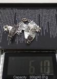 Браслет серебро Египет Арабские клейма 800, фото №9