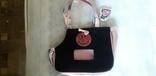 Детская сумка розовая с перламутровым блеском., фото №2