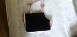 Детская сумка розовая с перламутровым блеском., фото №3