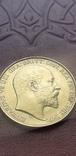 Золото  2 фунта соверена 1902 г, фото №3