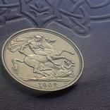 Золото  2 фунта соверена 1902 г, фото №11