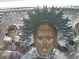 Серебряная икона Николая 1779 года, фото №6