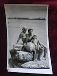 Семья пляж Одесса 1972, фото №2