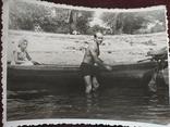 Мужик с лодкой торс плавки, фото №2