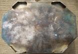 Серебряная шкатулка с флоральным декором., фото №7