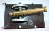 Пушка с ядрами. Кабинетный настольный сувенир ручная работа., фото №3
