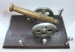 Пушка с ядрами. Кабинетный настольный сувенир ручная работа., фото №4