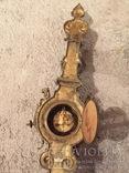 Бронзовые настенные часы «Грифоны», фото №8