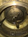 Бронзовые настенные часы «Грифоны», фото №10
