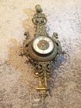 Бронзовые настенные часы «Грифоны», фото №12