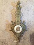 Бронзовые настенные часы «Грифоны», фото №13