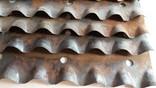 Ножи новые калёные для корморезки, из СССР, 19 штук., фото №3