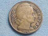 Аргентина 20 сентаво 1949 года, фото №3