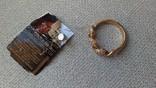Кольцо золото 585, вставки цирконы., фото №11
