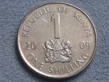 Кения 1 шиллинг 2009 года, фото №2