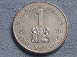 Кения 1 шиллинг 2010 года, фото №2