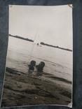 Пляж море кораблик, фото №2