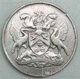 25 центов 1966 г. Тринидад и Тобаго, фото №2