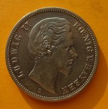 5 марок, Бавария, 1875 год, D., фото №2