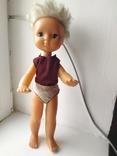 Кукла с голубыми глазами (клеймо), фото №2